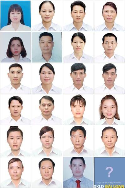 Hình ảnh lao động xuất cảnh đi Đài Loan tháng 3
