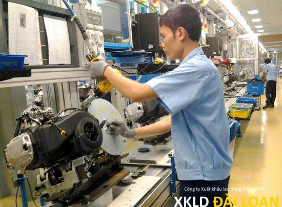 [XKLD Đài Loan] Tuyển nam làm Đài Bắc nhà máy cơ khí