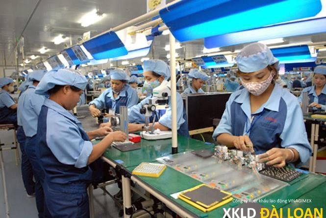 [XKLD Đài Loan] Tuyển 15 lao động nữ ưu tiên kết hôn làm điện tử