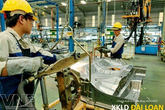 Xuất khẩu lao động Đài Loan tuyển lao động hàn cơ khí CNC 17