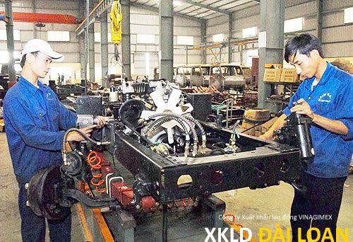 Xuất khẩu lao động Đài Loan tuyển nam làm hàn TP Cao Hùng