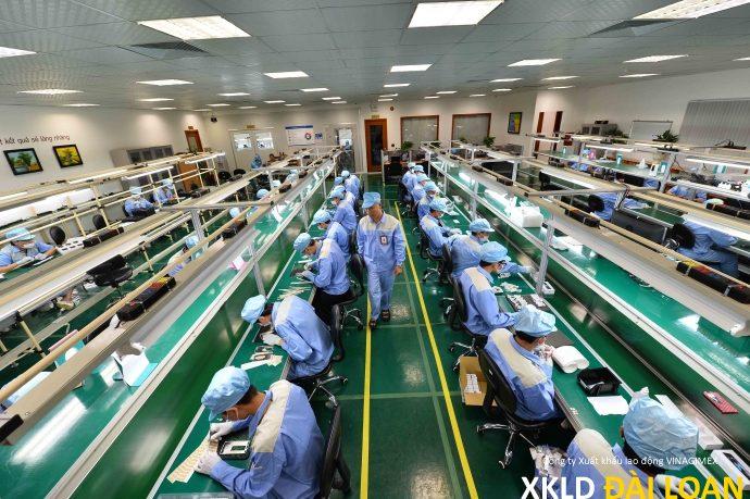 Tuyển 20 nam nữ sản xuất thiết bị điện ưu tiên biết tiếng Trung