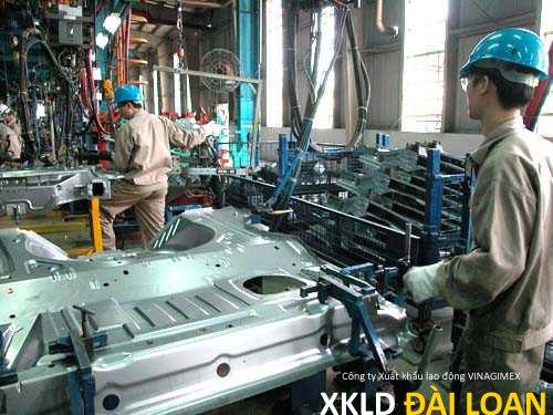 XKLD Đài Loan tuyển nam làm sản xuất kim loại