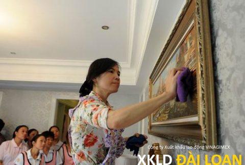 Tuyển 03 nữ giúp việc gia đình làm ở Đài Bắc
