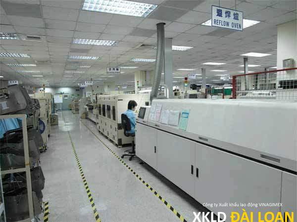 [XKLD Đài Loan] Đơn hàng tuyển nữ sản xuất bảng mạch điện tử